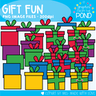 Gift Fun - Clipart Graphics From the Pond