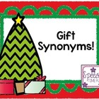 Gift Synonyms! (Freebie!)