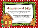 Gingerbread Baby - Speech and Language Mini Book Companion
