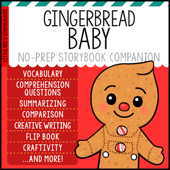 Gingerbread Baby by Jan Brett { Storybook Study Activity Packet }