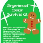 Gingerbread Cookie Survival Kit: Reading and Writing Activ