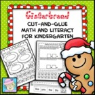 Gingerbread Cut-and-Glue Math and Literacy for Kindergarten