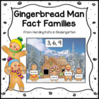 Gingerbread Fact Family Activity