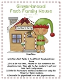 Gingerbread Fact Family House