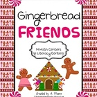 Gingerbread Friends Full Unit- Math & Literacy Centers (20 total)