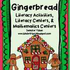 Gingerbread Literacy Activities with Literacy & Mathematic