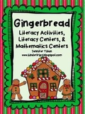 Gingerbread Man Literacy Activities with Literacy & Mathem