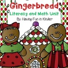 Gingerbread Literacy, Math, and Writing MEGA Unit