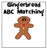 Gingerbread Man ABC Matching