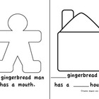 Gingerbread Man Book