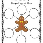 Gingerbread Man Bubble Map
