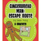 Gingerbread Man Escape Route: A Craftivity