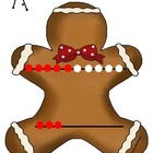 Gingerbread Man Rekenrek Count the Room Teen Number Activity