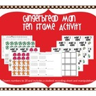Gingerbread Man: Ten Frame Activities