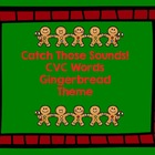Gingerbread Man Themed CVC Word Activities