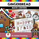 Gingerbread Math Centers  & Activities