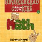 Gingerbread Math Fun based on the Common Core