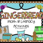 Gingerbread: Math & Literacy Activities Pack