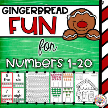 Numbers 1-20:  Gingerbread Math Pack