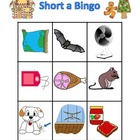 Gingerbread Short a Bingo {FREE}