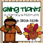 Giving Thanks- Aligned to Common Core