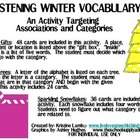 Glistening Winter Categories