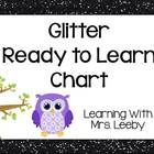 Glitter Ready to Learn Chart