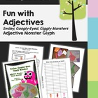 Glyph - Monster Adjective Glyph - Language and Math Glyph