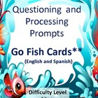 Go Fish! Bilingual Processing Cards (English and Spanish)