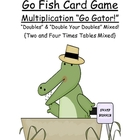 Go Fish Math Card Game Doubles & Double Your Doubles Multi