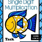 Go Fish - Multiplication Card Games - Three and Six Times