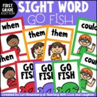 Go Fish...First Grade Dolch Words