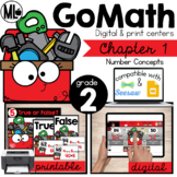 Go Math! Chapter 1 Centers for Second Grade