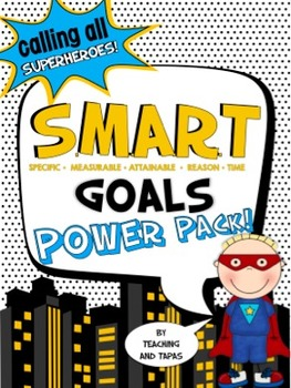 Goal Setting Power Pack - Help your students choose SMART