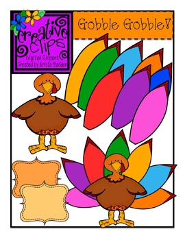 Gobble Gobble! {Creative Clips Digital Clipart}