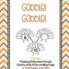 Gobble Gobble Number Bonds Freebie