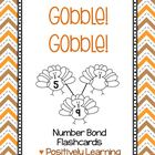 Gobble Gobble Number Bonds set