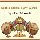 Gobble Gobble Sight Words