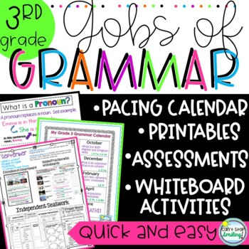 Common Core Grammar Grade 3 - Gobs of Grammar