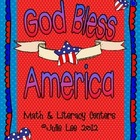 God Bless America Math and Literacy Unit