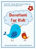 God Loves a Cheerful Giver - Devotions for Kids