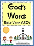 God's Word:  Bible Verse ABC's (Alphabet Posters and Color