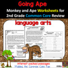 Going Ape Over the Second Grade Language Arts Common Core