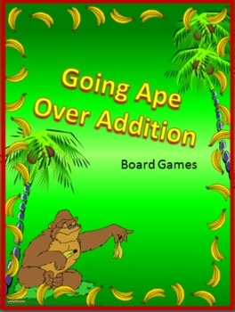 Going Ape over Addition- Board Games