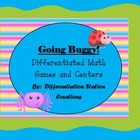 Going Buggy! Insect Differentiated Math Centers and Games
