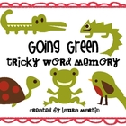 Going Green-Tricky Word Memory
