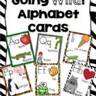 Going Wild! - Animal Print Alphabet Cards