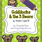 Goldilocks and the 3 Bears {Reading & Writing Mini-Unit}