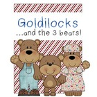 Goldilocks and the Three Bears Mini Unit Literacy, Reading, Art