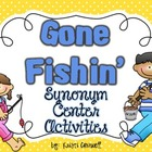 Gone Fishin' Synonym Activities {FREEBIE}